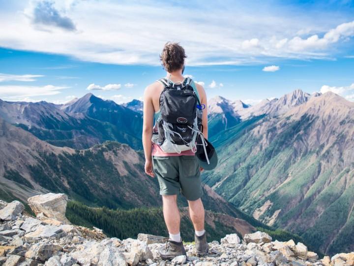 backpacken op reis gaan self storage huren